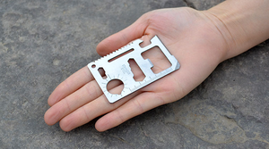 Knifecard Outdoor Stainless steel multi tool card pocket credit card survival tool knife card