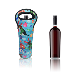 Wine Bottle Holder Wine Tote Carrier Cooler Bottles Slim Water Neoprene Can Cooler Holder Beer Wine Bottle Cooler