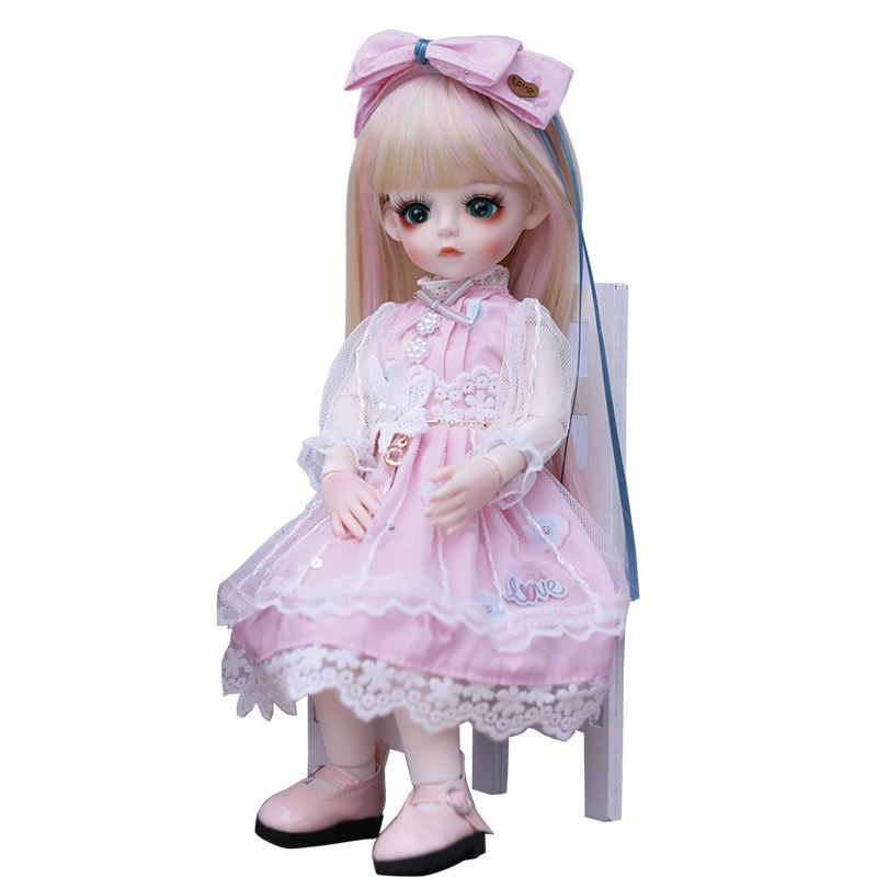 kemille doll 6 points BJD doll solid knuckle doll children's toy girl princess gift