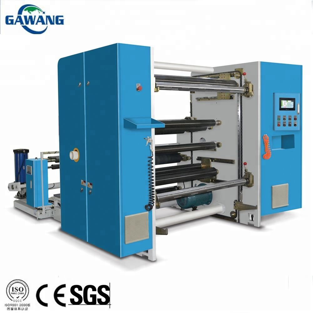 Professional Producer Supply Hard-Wearing Adhesive Tape label PVC Cutting Slitting Rewinding Machine
