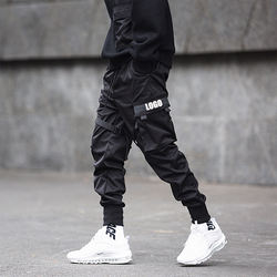 Wholesale Men Multi-pocket high qual Hip Pop Pants Trousers