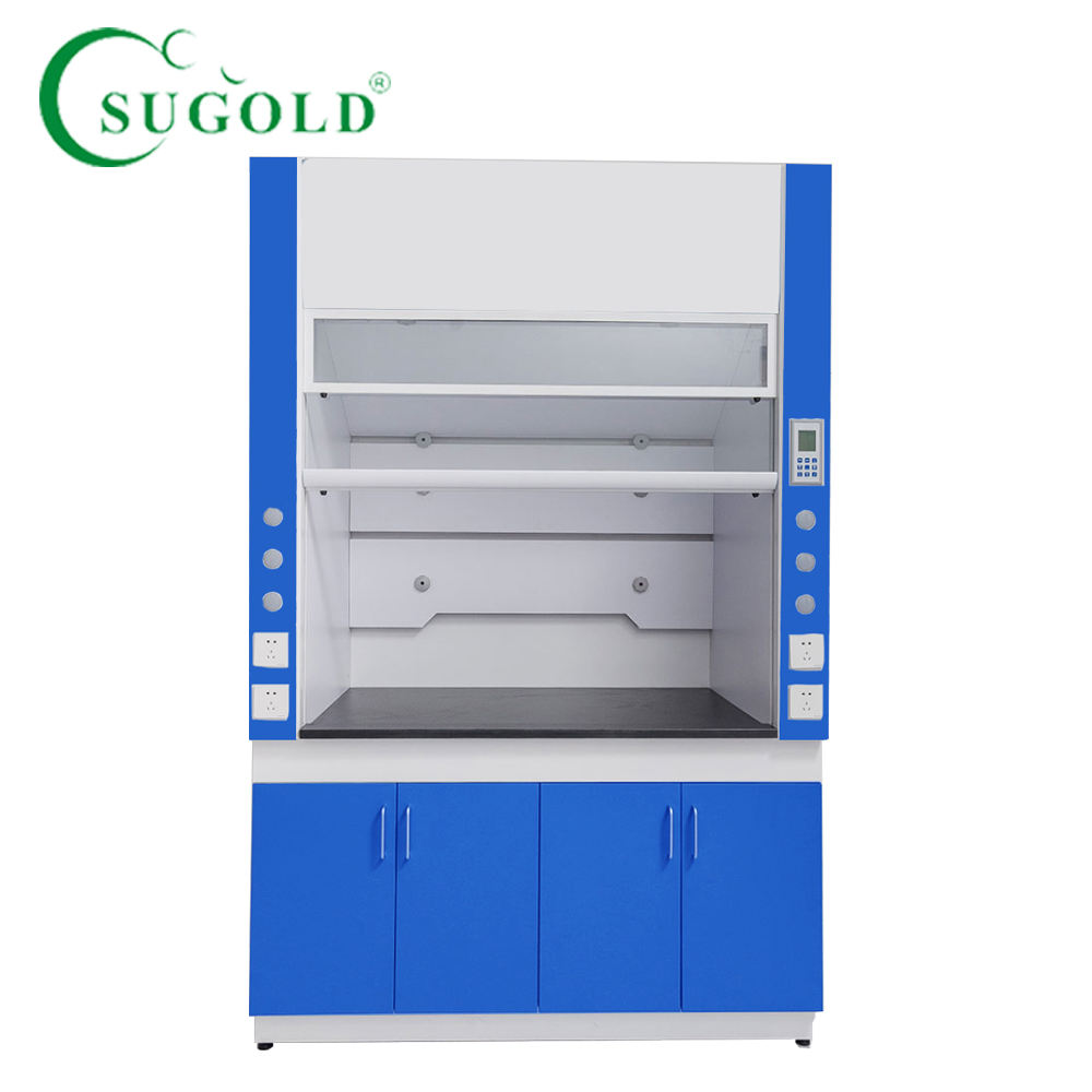 Laboratory All steel high quality air exhausted fume hood