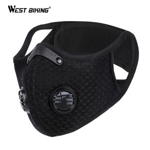 WEST BIKING Activated Carbon Dust sports protect custom motorcycle full face cover winter neck sports ski winter half cover