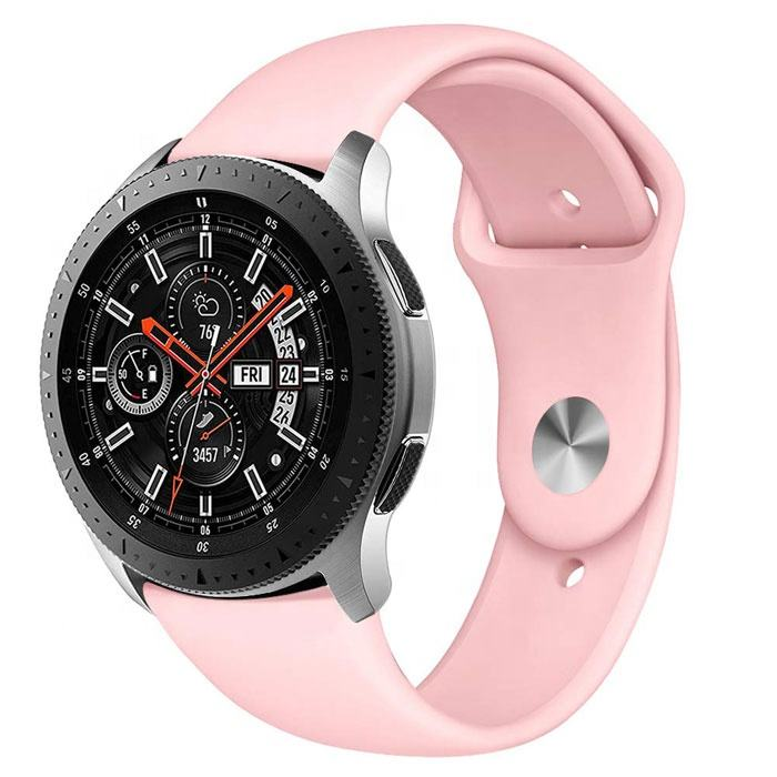 Universal Single Buckle Sport Wristband 20ミリメートル22ミリメートルSilicone Rubber Watch Strap