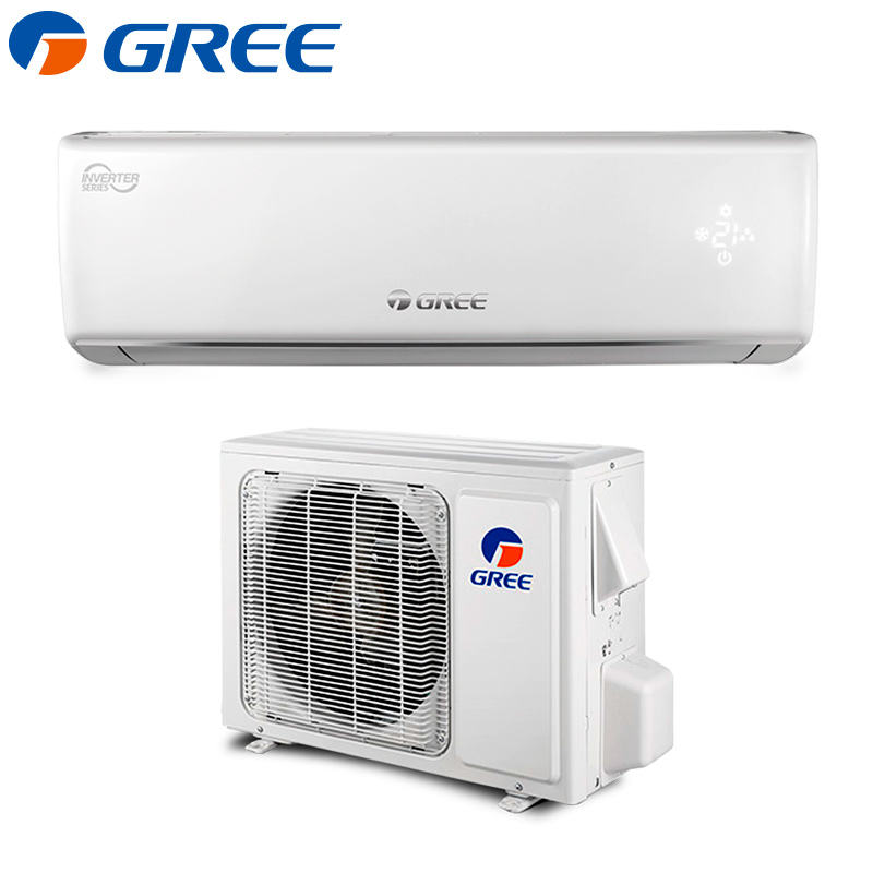 GREE 9000BTU 12000BTU 18000BTU 24000BTU Ductless Wall Mount Inverter Mini Split System Heat Pump Air Conditioner
