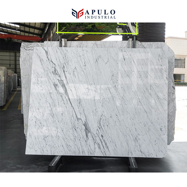 Venato carrara carrera cararra Chinese marble polished white leera floor tiles slab Italian stair factory price 12 x 12 24x24