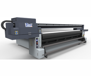 CE Ntek 3321R flatbed and roll to roll machine UV flatbed digital printer for plastic