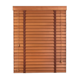 Customized 1.5 Inch Natural Wood Blind,Wood Shutters And Blinds