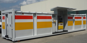 20ft and 40ft ISO Tank LPG Portable Fuel Station Container Customized Mobile Gas Station