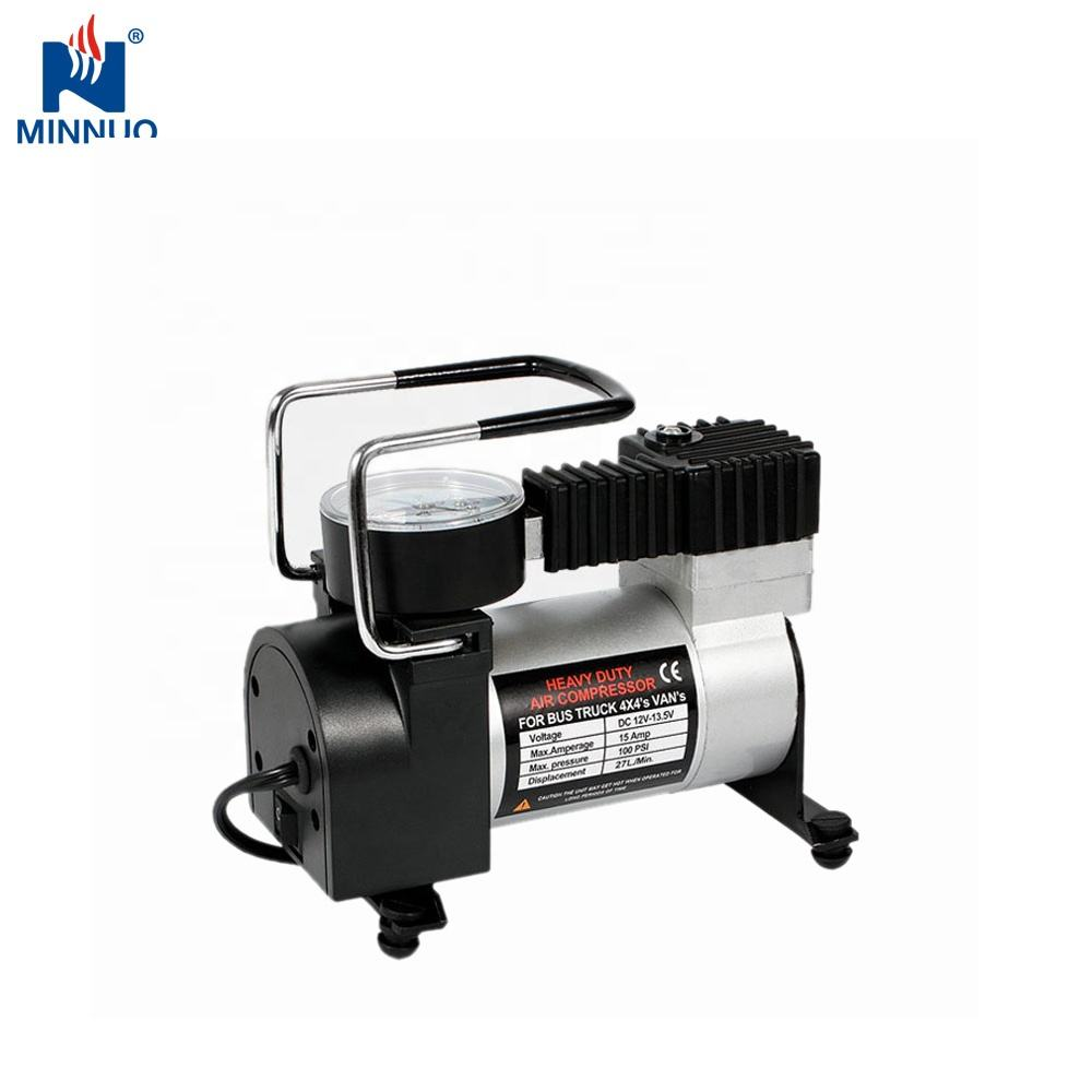 Heavy duty portable metal auto air compressor DC 12V 300 psi tire inflator car air compressor pump for sale