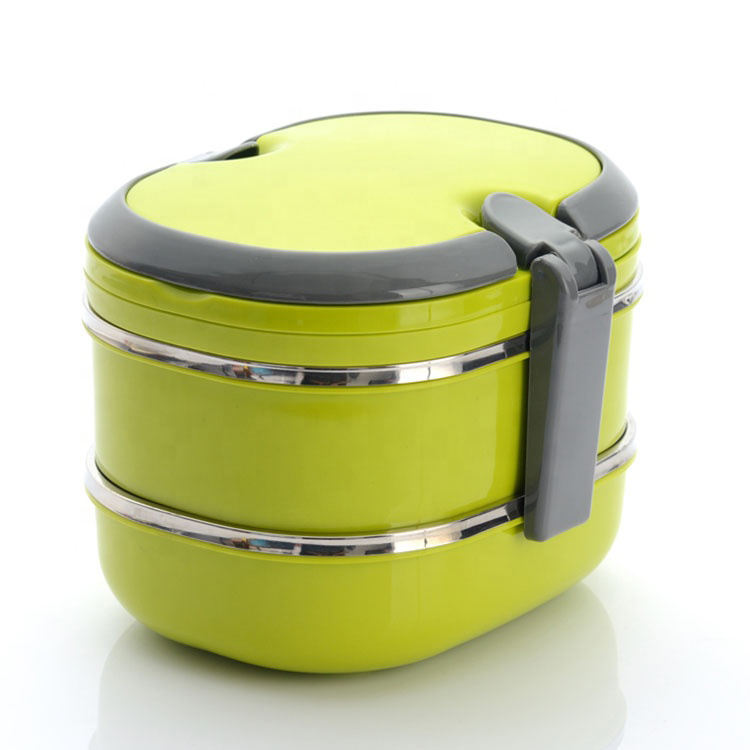 Hot selling stainless steel lunch box quality assurance double - layer lunch box