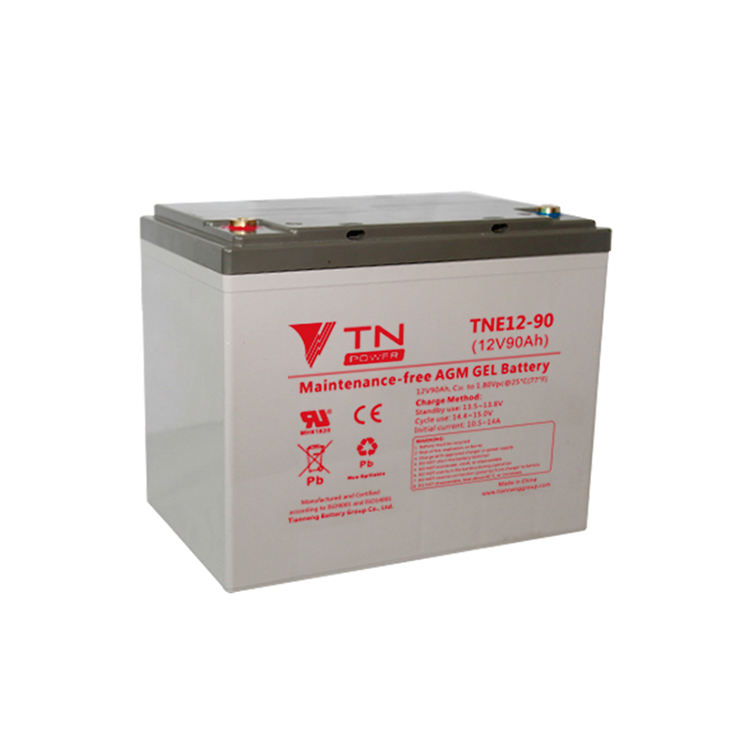 Electricity Storage Deep Cycle 12v 90ah Gel Battery For Electric Tricycle