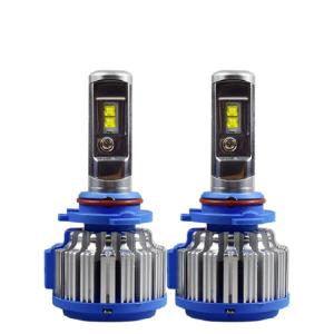 T1 h4 led headlight bulbs conversion kit h1 9012 led light canbus 8000 lumen h7 auto car headlight with atuo