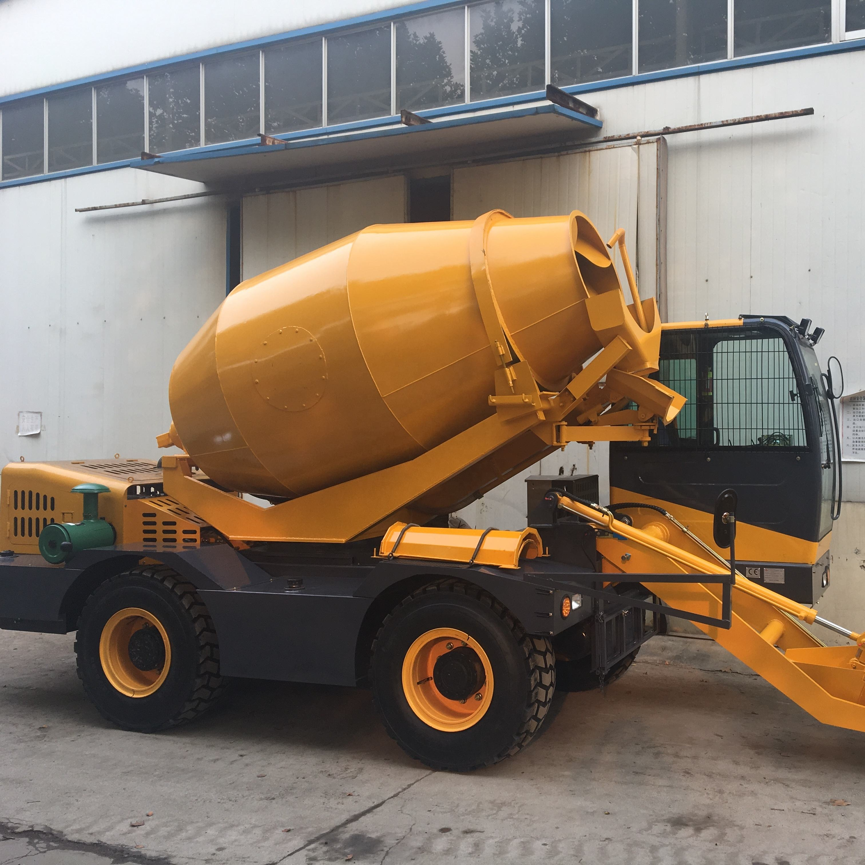 High efficiency Mixing equipments YF420 concrete mixer