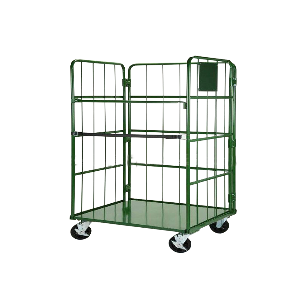 <span class=keywords><strong>Chariot</strong></span> logistique multicouche OEM cueillette d'entrepôt pliable/<span class=keywords><strong>chariot</strong></span> à cage