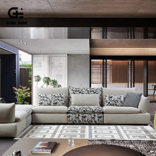 De <span class=keywords><strong>moda</strong></span> y moderno diseño en forma de sofá conjunto para el hogar o el sofá de la Sala