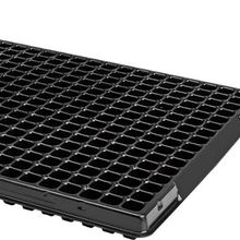 Grow Pro Greenhouse Seedling Starter Seed Starting Black Plastic Propagation Tray 512 Cell