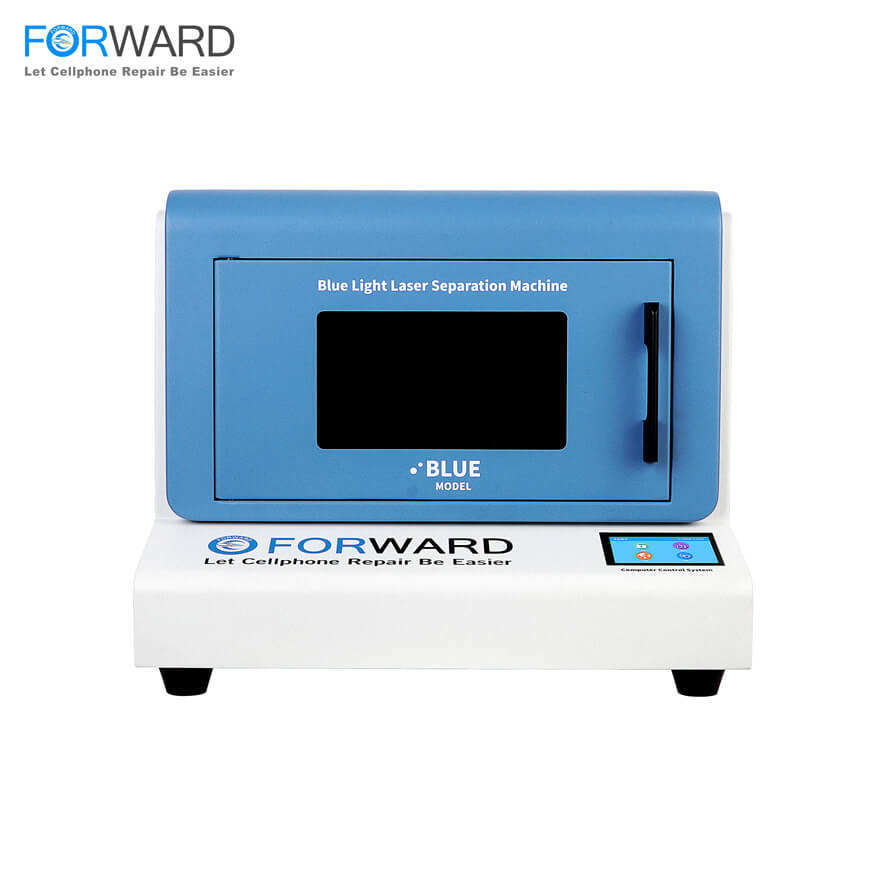Free Shipping Blue Light LCD Laser Repair Machine with Automatic Positioning for Separating Back Glass