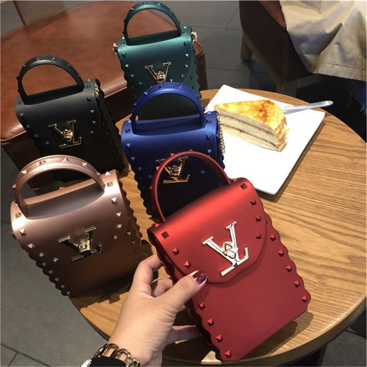 New arrival designer handbags famous brands small pvc jelly purse women handbags luxury purses and handbags for women hand bags