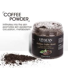 Wholesales private label Custom beauty organic vegan exfoliator moisturizing coffee body scrub