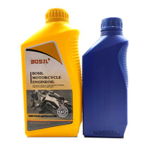Lubricant 4T Small Package 15W40 Yellow Bottle Factory High Quality Cheap OEM 1L Motorcycle Engine Oil
