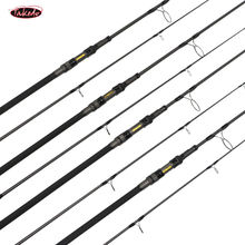 TK19011 IM10 high carbon fiber telecarp 3 sections telescopic carp rod 9'  10'  3.0lbs  3.5lbs travel fishing rods with FUJI