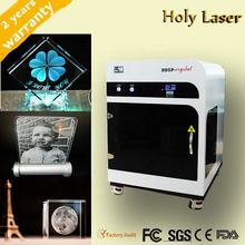 3D glass laser inner etching photo crystal 3d laser engraving machine small manufacturing machines