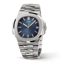 Low MOQ Business Style Class Relogio Custom Men's Stainless Steel Quartz Watch