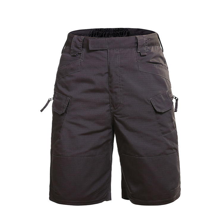 X-Future Mens Multi-Pockets Utility Printed Beach Casual Baggy Cargo Shorts