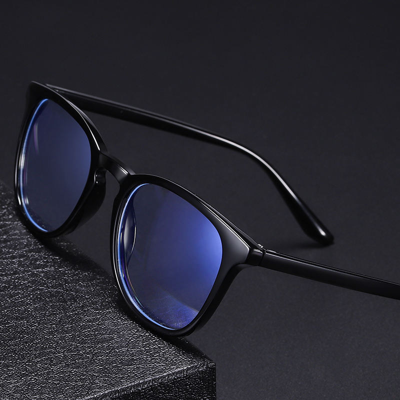 China Factory Wholesale New Cheapest Blue Blocker Glasses With TR90 CE Eyeglasses Frame For Man