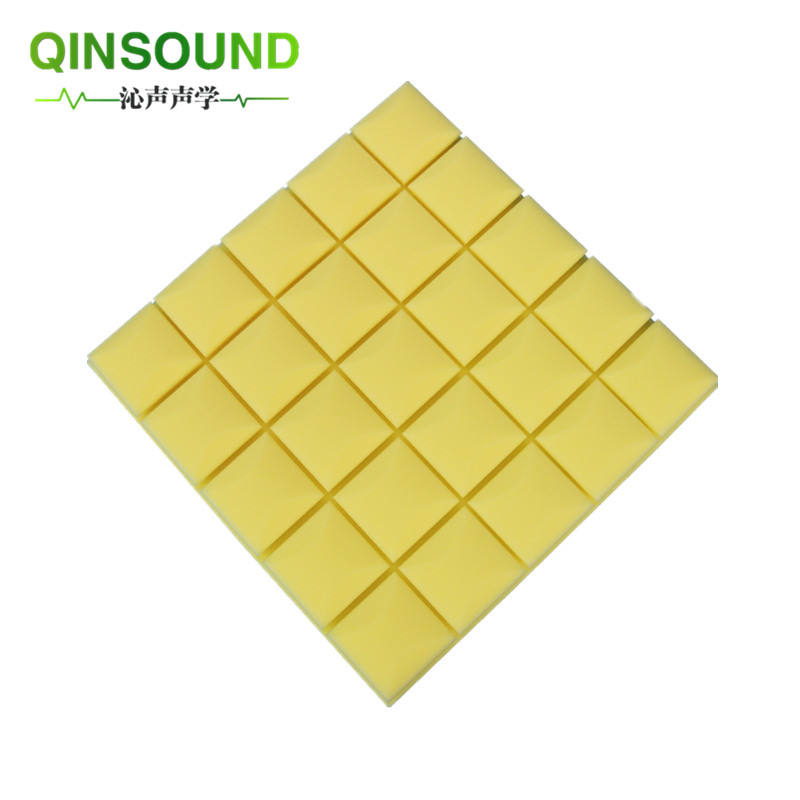 High density soundproof acoustic sponge Noise Cancelling 3D Wall Ceiling Acoustic Foam