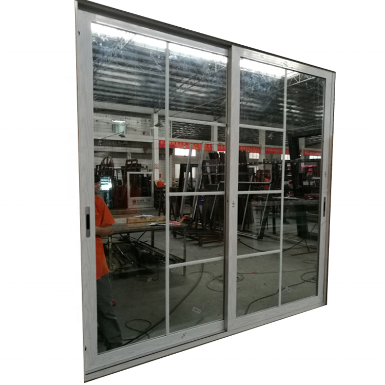 Laminated glass soundproof design sliding partition doors