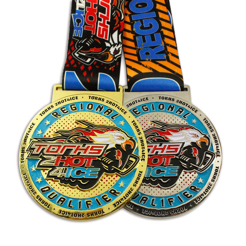Top quality Sport Medals Trophies Awards cheap custom metal medals