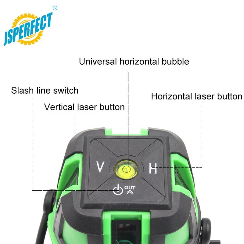 Berputar Green Cross Line 5 Titik Dot Laser Level Harga