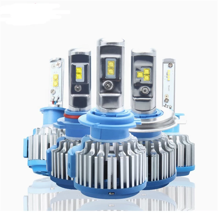 Factory Price Car Light 40W Accessories Aluminum T1 H1 9006 12V Led Headlights Car 4000Lm/Bulb Led Light For Automobile