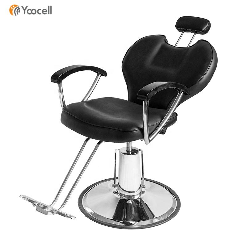 Yoocell disegno Popolare hair <span class=keywords><strong>stylist</strong></span> salon sedie olio idraulico poltrona da barbiere sedia reclinabile