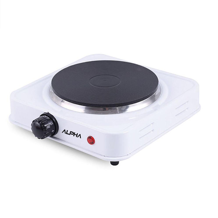 Portable electric stove with plastic stand single hot plate