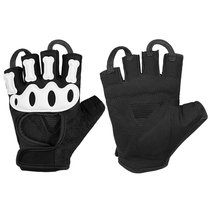 OZERO Mountain Bike Cycling Gloves Shockproof Gel Pads Half Finger Hand Glove for Road Bike Weightlifting Workout Motorcycle .