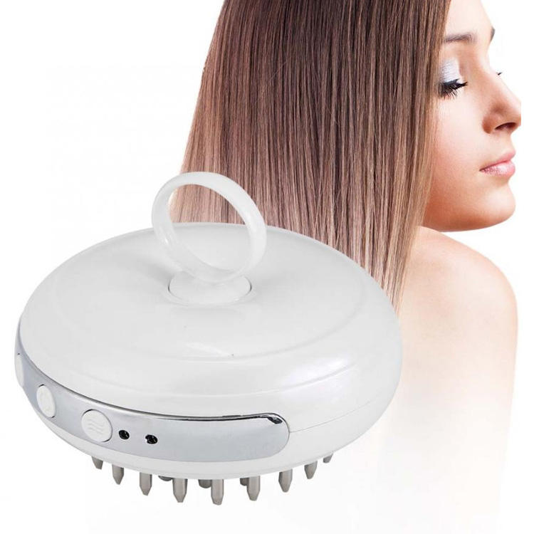 JMK.Smart 2020 Beauty Care Equipment Scalp Head Massage Brush Electric Infrared Vibration Massage Comb For Hair Growing