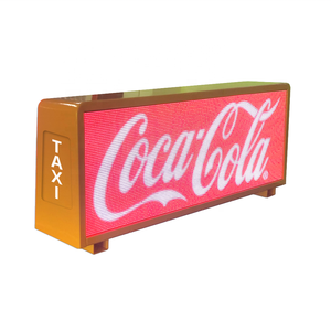 Double Side High Definition Display Top Usb Outdoor Full Color Roof Sign Screen Advertising Video P5 Led Taxi