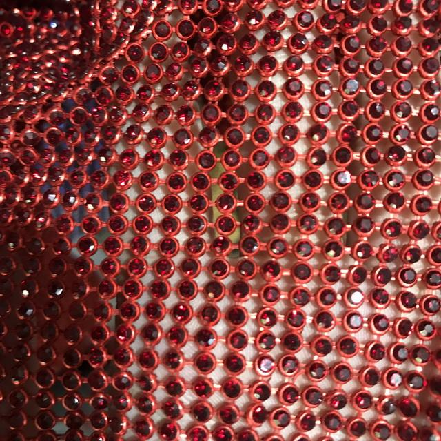 AA Grade Rhinestone Crystal Fabric For Clothes