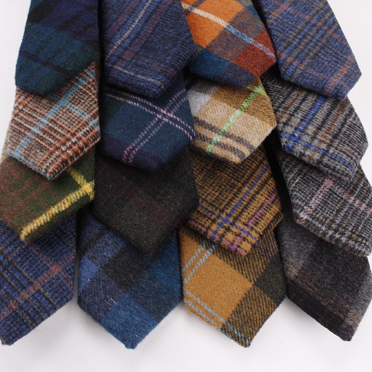 Casual Mens Wool Tie