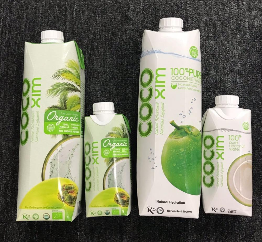 PRIVATE LABEL - VIETNAM UHT PACKAGED COCONUT WATER