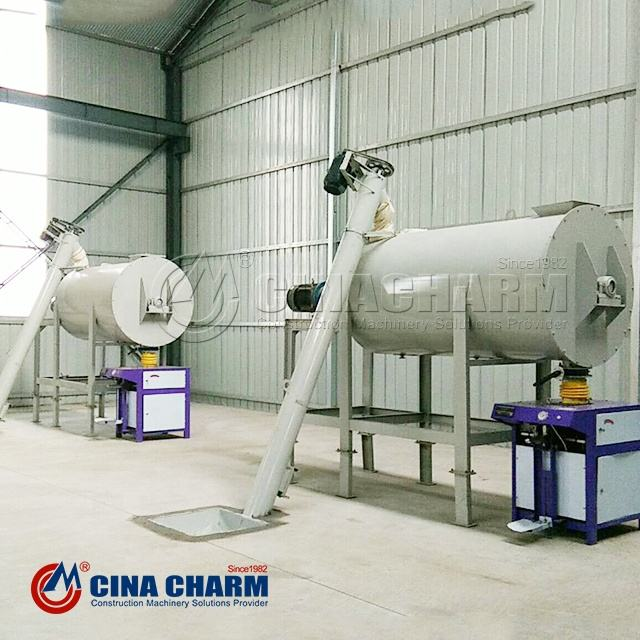 Ce certificate automatic dry mortar mixing and packaging machine