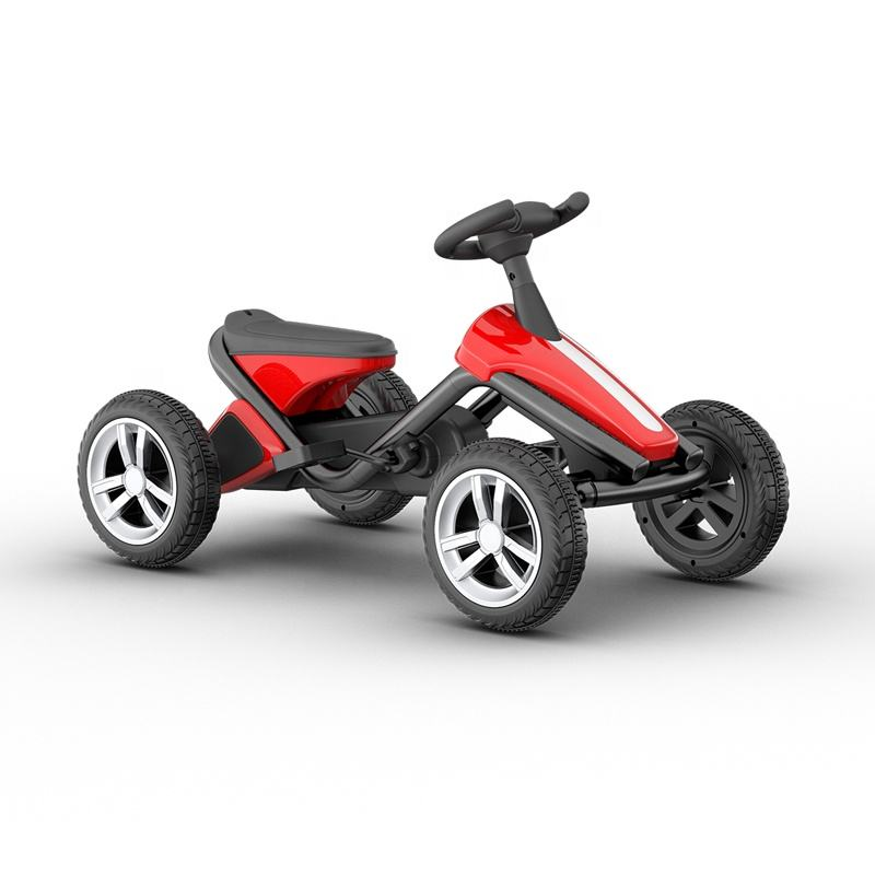 Cheap Price Ride on four EVA Wheels Foot kids pedal plastic car go kart kids car baby car toy scooter