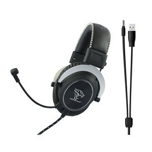 Honcam Gaming Cuffie Nube Argento Peltor Cuffie Da Gioco V500 Ps4 Gaming Headset
