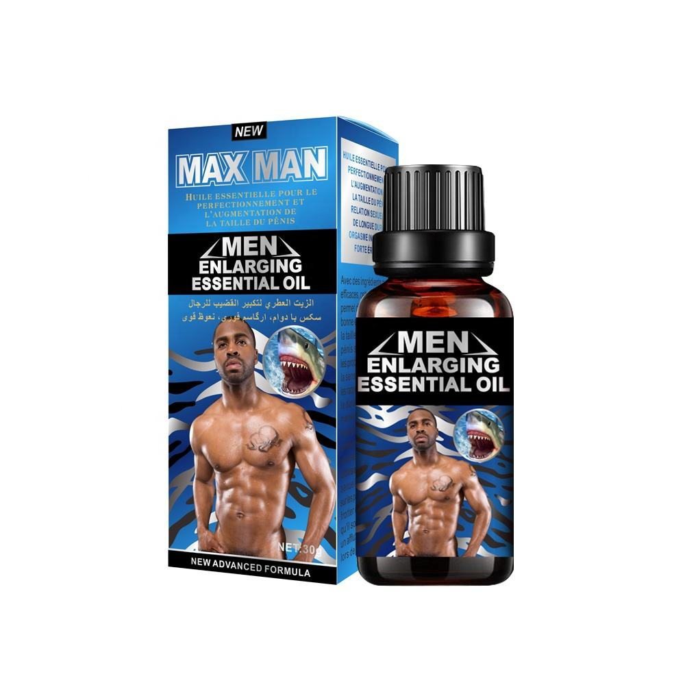 Best selling Health Product MAX MAN titan gel Sex Herbal Oil Nature Man Penis Long Enlargement Body Massage Oil For Sex