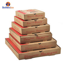 Pizza Use and Corrugated Board Paper Type pizza box