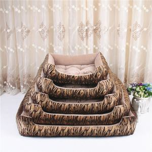 Luxury warm Soft Sofa Washable Cute Dog Cat pets house canopy Beds for small cats dog