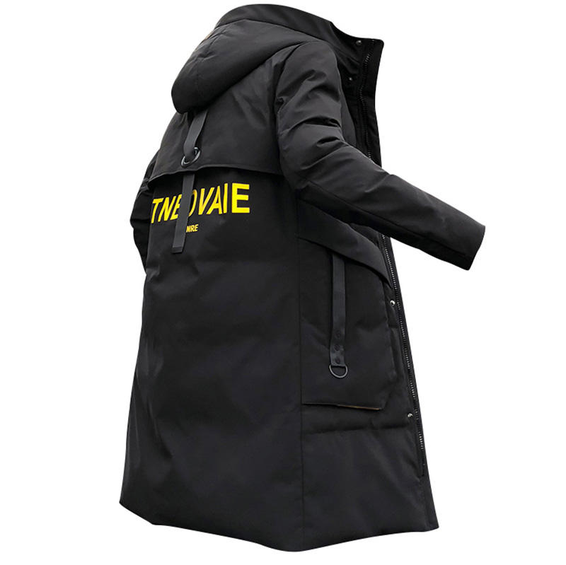 High Quality Custom Winter Men's Cotton Coat Hooded Padded Outdoor Windbreak Padding Jacket